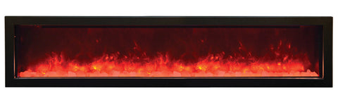 Amantii Panorama Series BI72-SLIM Electric Fireplace