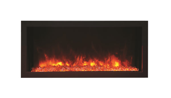 "Amantii 30"" Extra Slim Indoor or Outdoor Electric Fireplace"