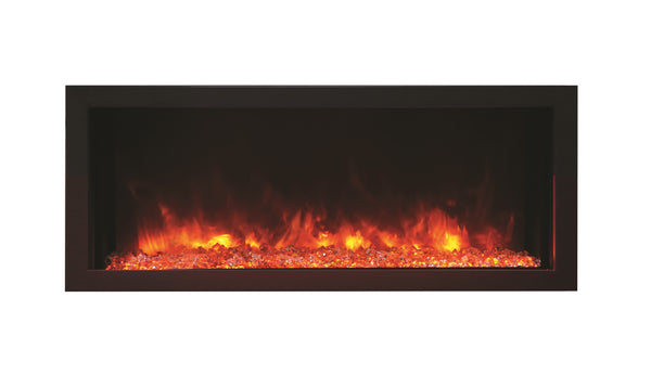 "Amantii 40"" Extra Slim Indoor or Outdoor Electric Fireplace"