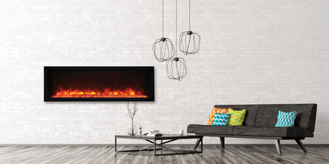 Amantii Panorama Series BI50-XTRASLIM Electric Fireplace l Barbecues Galore