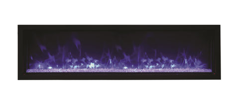 Amantii Panorama Series BI60-XTRASLIM Electric Fireplace l Barbecues Galore