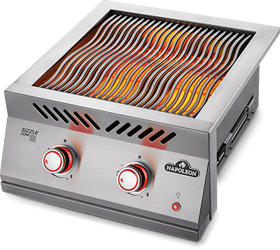 "Napoleon Built-In 700 Series 18"" Dual Infrared Burner - Natural Gas 