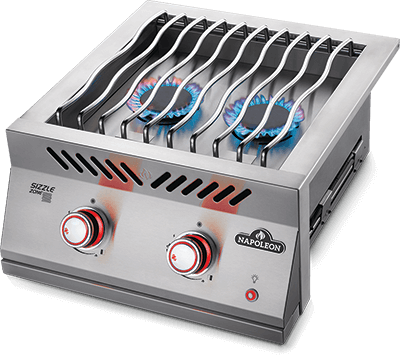 "Napoleon Built-In 700 Series 18"" Dual Range Top Burner - Natural Gas 