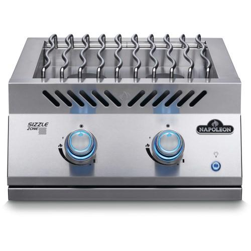 "Napoleon Built-In 700 Series 18"" Dual Range Top Burner - Propane 
