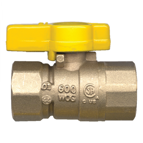 "CSA Approved Shut Off Valve - 1/2"" Female to Female"