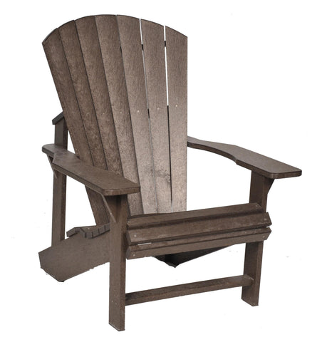 CRP Adirondack Chair - Chocolate