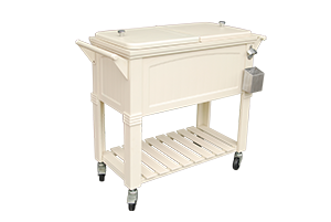 Brander Antique Patio Coolerr - Ivory