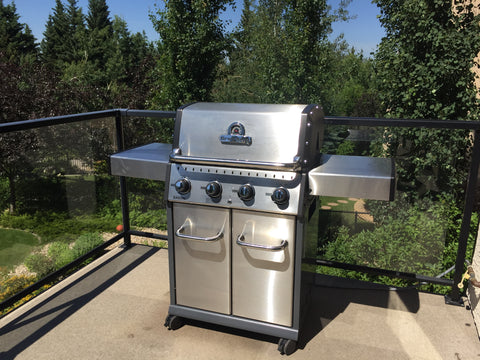 Broil King Baron S420 Barbecues Galore Customer Delivery