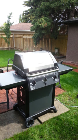 Broil Mate Winston Barbecue at a Customer's Home