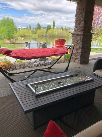Outdoor GreatRoom Brooks Fire Table - Extra Long