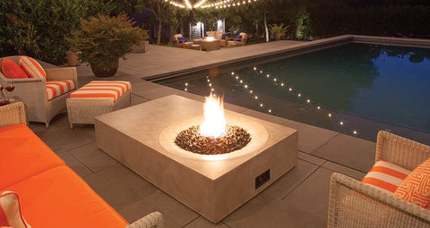 Brown Jordan Equinox Fire Table | Barbecues Galore