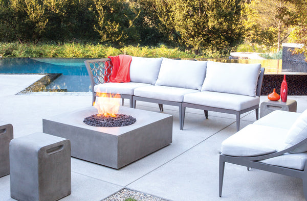 Brown Jordan Solstice Fire Table | Barbecues Galore