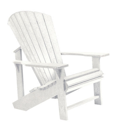 CRP Adirondack Chair - White