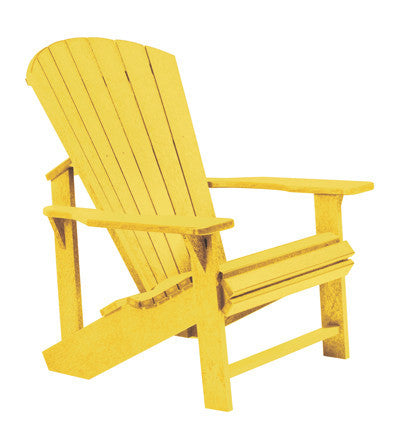 CRP Adirondack Chair - Yellow