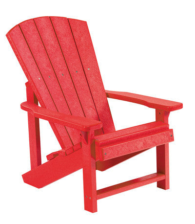 CRP Kids Adirondack Chair - Red