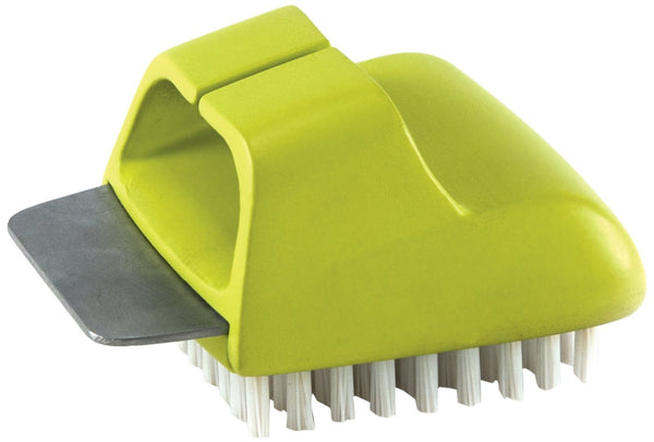 Charcoal Companion Salt Block Scrubbing Brush | CC4108