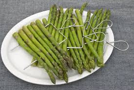 Veggie Raft Skewers with Asparagus