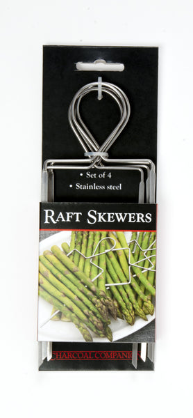 Charcoal Companion Veggie Raft Skewers