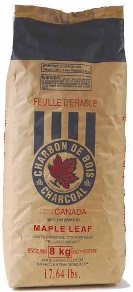 MAPLE LEAF LUMP CHARCOAL