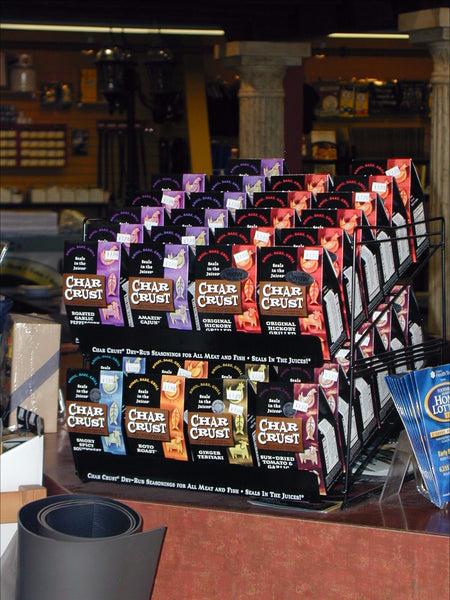 Char Crust Seasonings On Display At Barbecues Galore