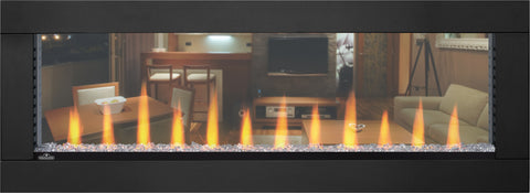 "Napoleon Clearion 50"" Built-In See Thru Electric Fireplace"