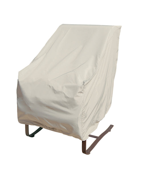 CP112 - Treasure Garden High Back Chair Cover with Elastic