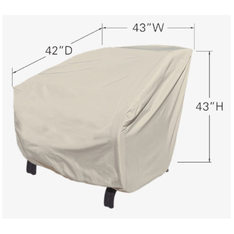 Treasure Garden Lounge Chair Cover - Extra Large