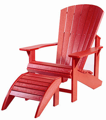 CRP Adirondack Chair - Red