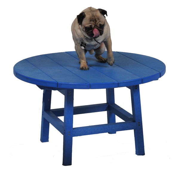 Puppy Love for the CRP Round Cocktail Table - Blue