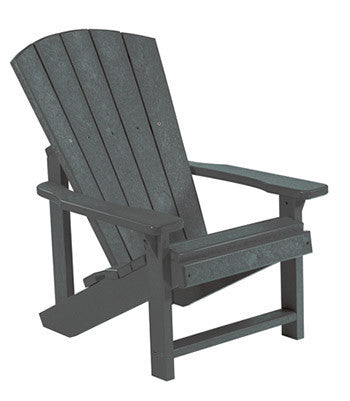 CRP Adirondack Chair - Slate Grey