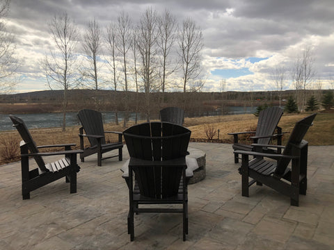 Crp Upright Adirondack Chair Resin Furniture Barbecues