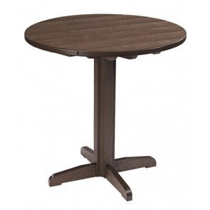 "CRP 32"" Pub Table in Chocolate 