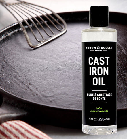 Caron & Doucet Cast Iron Seasoning Oil