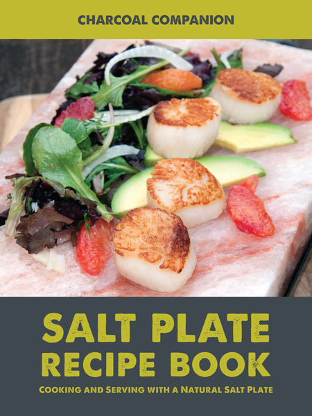 Charcoal Companion Himalayan Salt Plate Cookbook