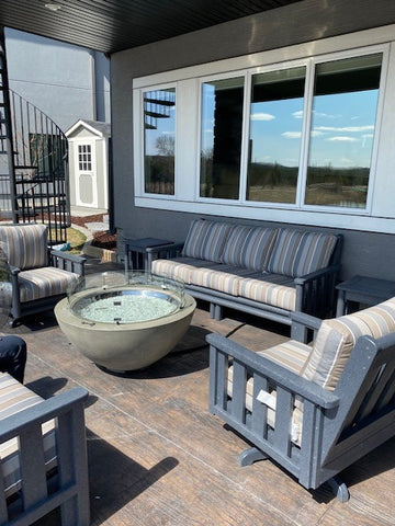 "Outdoor Great Room 30"" Cove Fire Bowl 
