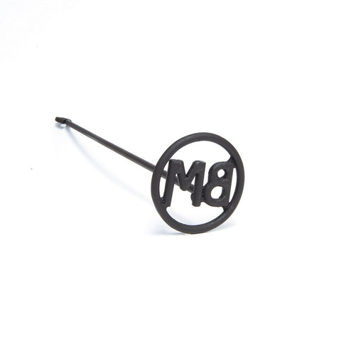 Buffalo Trading Custom Branding Iron - Two Letter Circle