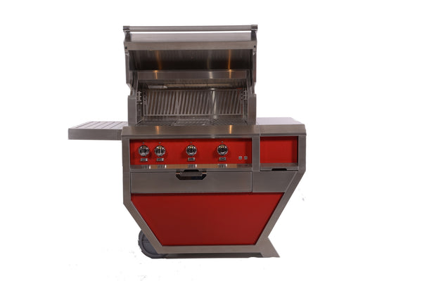 "Hestan GMBR36 36"" Grill Head in Matador Red"