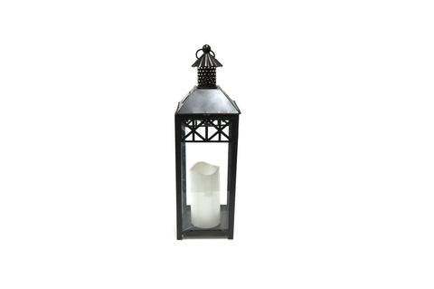 Brander Outdoor Lantern Solar Powered Candle Light | Barbecues Galore