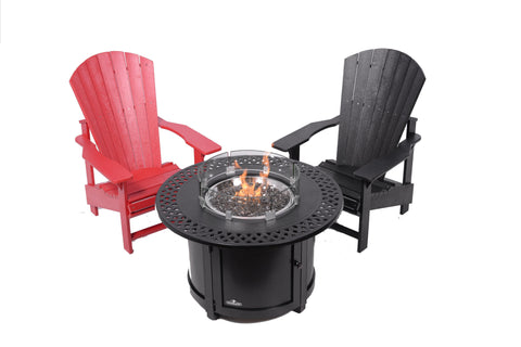 Napoleon Victorian Patio Fire Table – Round | Barbecues Galore