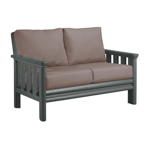 CRP Stratford Deep Seating Set Grey Frame - Cash Ash Cushions