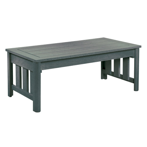 CRP Stratford Deep Seating Coffee Table with Slate Grey frame | The perfect solution to some comfortable and elegant patio lounging this summer.  Barbecues Galore: Burlington, Oakville, Etobicoke & Calgary