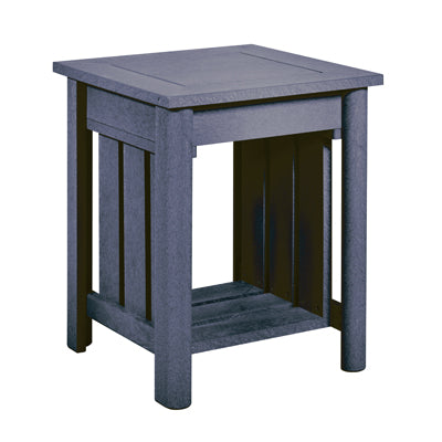 CRP Stratford Deep Seating End Table with Slate Grey frame | The perfect solution to some comfortable and elegant patio lounging this summer.  Barbecues Galore: Burlington, Oakville, Etobicoke & Calgary