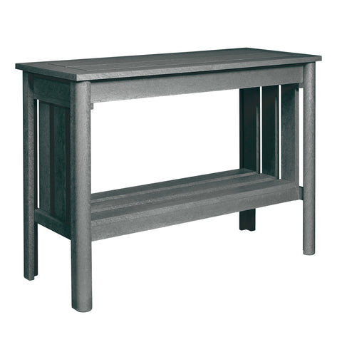 CRP Stratford Deep Seating Sofa Table with Slate Grey frame | The perfect solution to some comfortable and elegant patio lounging this summer.  Barbecues Galore: Burlington, Oakville, Etobicoke & Calgary