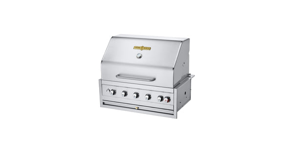 "Crown Verity Estate Elite 36"" Built-in Grill - Natural Gas 