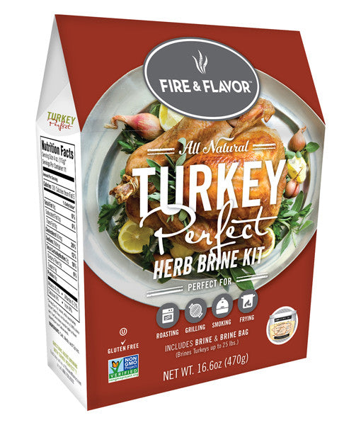 Fire & Flavor Herb Turkey Brine Kit