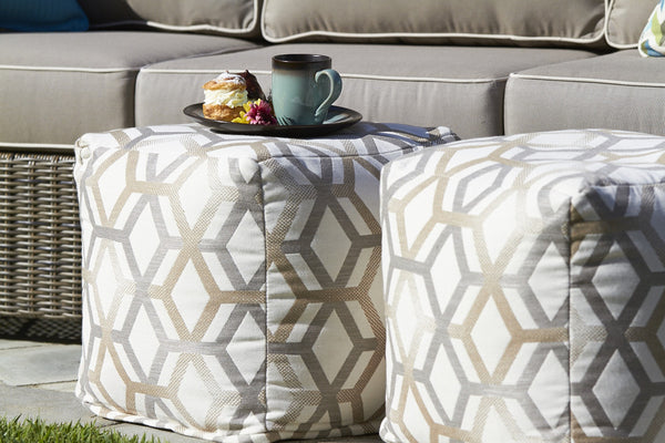 North Cape 'Pouf' Cube Cushions