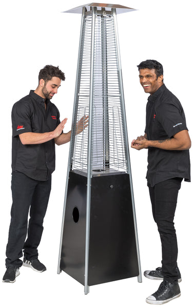 The Fontana Patio Heater is so warm it will transport you to hot Havana nights. Available in both propane and natural gas at five of Barbecues Galore's Canadian locations across Ontario and Alberta. Shop patio furniture and backyard essentials in Etobicoke, Oakville, Burlington and Calgary.