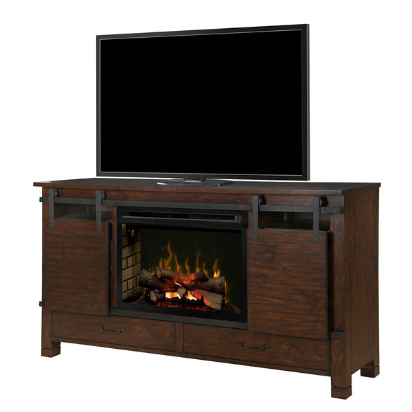 Dimplex Austin Electric Fireplace Media Console | Barbecues Galore