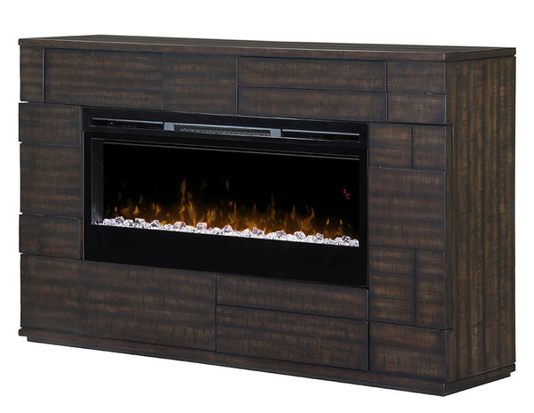 Dimplex Markus Electric Fireplace Mantel Acrylic Ice