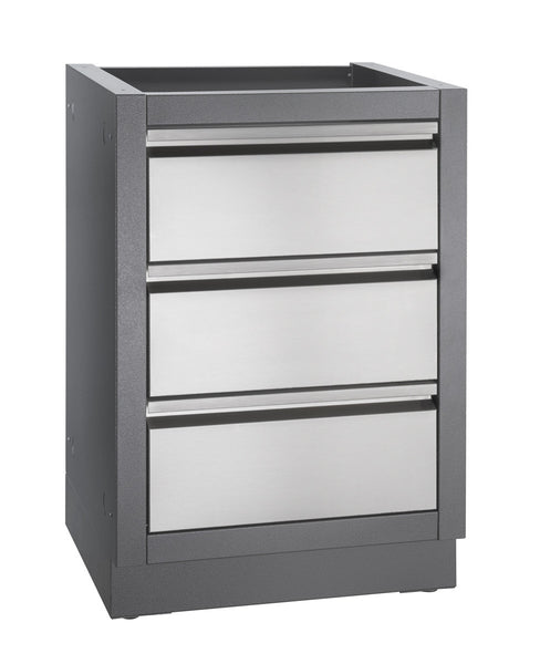 Napoleon Oasis Series - Three Drawer Cabinet | Barbecues Galore
